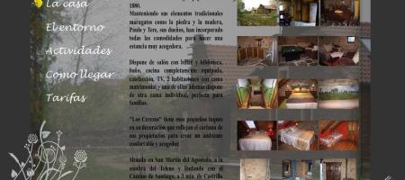 Antigua web de Casa Rural los Cerezos