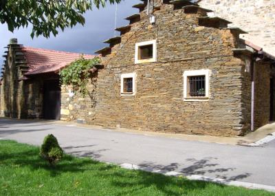 Casa Rural construida con los materiales tradicionales de la Maragatería