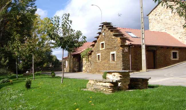 Vista exterior de Casa Rural los Cerezos