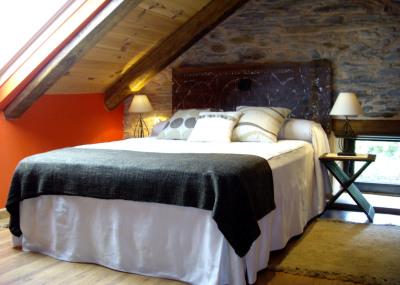 Segundo dormitorio de la Casa Rural