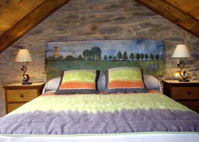 Dormitorio principal de Casa Rural los Cerezos